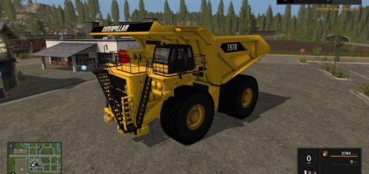 Мод грузовик CATERPILLAR 797B DUMP TRUCK V1.0 FS17