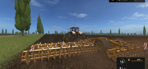 Мод культиватор KOECKERLING ALLROUNDER CULTIPLOUGH v 1.0.0.5 FS17