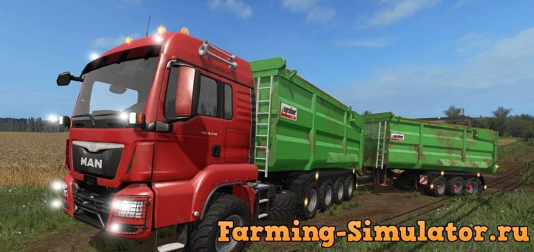 Мод ПАК Kroeger Man Pack v1.0 Farming Simulator 2017