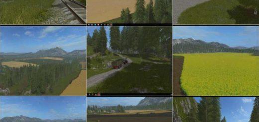 Мод карта Oregon v 1.0 Farming Simulator 2017