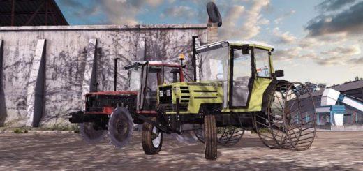 Мод ПАК трактора HURLIMANN v1.1 Farming Simulator 2017