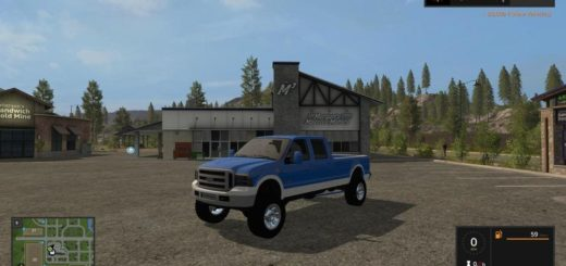 Мод авто 2005 FORD F-350 CUSTOM V1.0 FS17