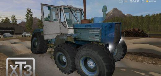 Мод трактор Т-150К экспериментальный Фермер Симулятор 2017