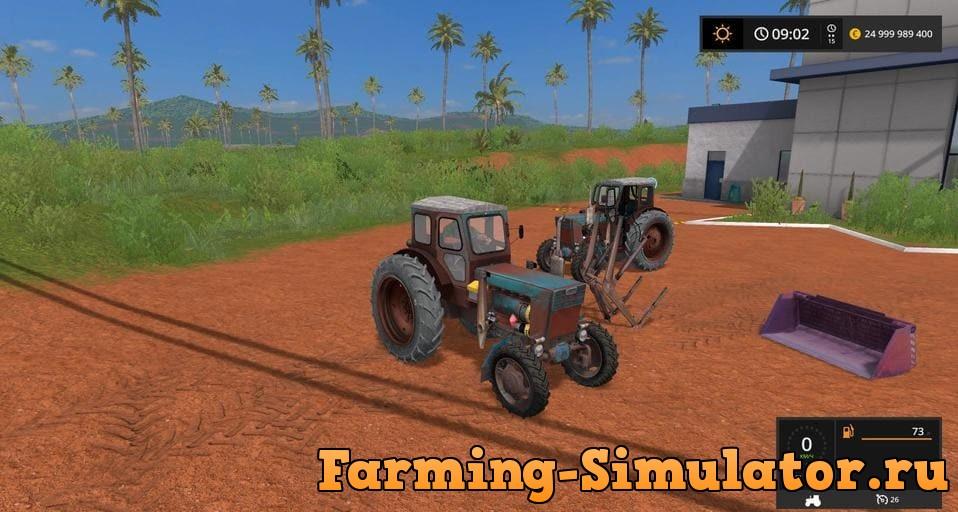 Мод трактор ЛТЗ Т-40АМ V2.6 Фермер Симулятор 2017