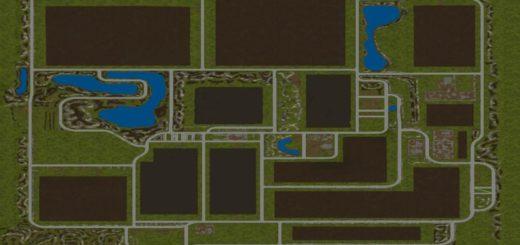 Мод карта THUNDER VALLEY V1.0.0.0 Farming Simulator 17