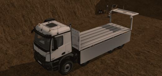 Мод грузовик MERCEDES AROCS 3245 V1.1 Farming Simulator 2017