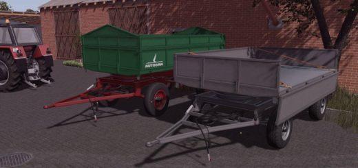 Мод ПАК прицепов AUTOSAN D47 BETA V1.0 Farming Simulator 17