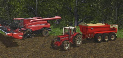 Мод ПАК CASE 14XX XL V1.0 Farming Simulator 2017