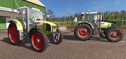 Мод трактор Claas Ares 616 RZ v1.0.0.0 Farming Simulator 17