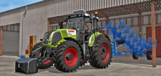 Мод трактор Claas Axion 800 Farming Simulator 2017