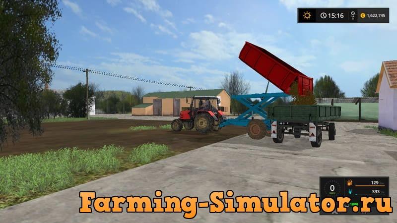 Мод прицеп EB 4 V1.0 Farming Simulator 17