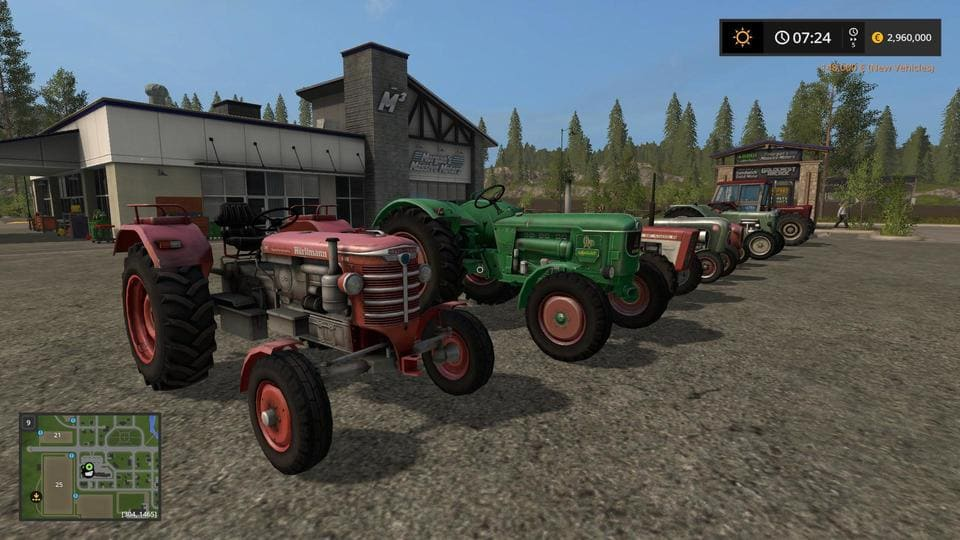 Мод ПАК FARMING CLASSICS V1.0.0.0 Farming Simulator 2017