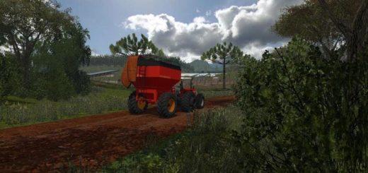 Мод прицеп перегрузчик FRANKHAUSER 8010 V1.0 Farming Simulator 17
