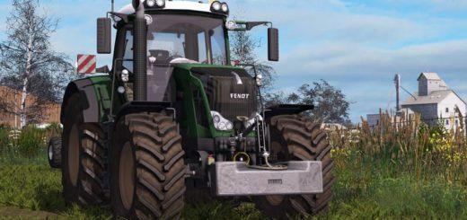 Мод трактор Fendt 828 Vario S3 V1.1.0.0 Farming Simulator 2017