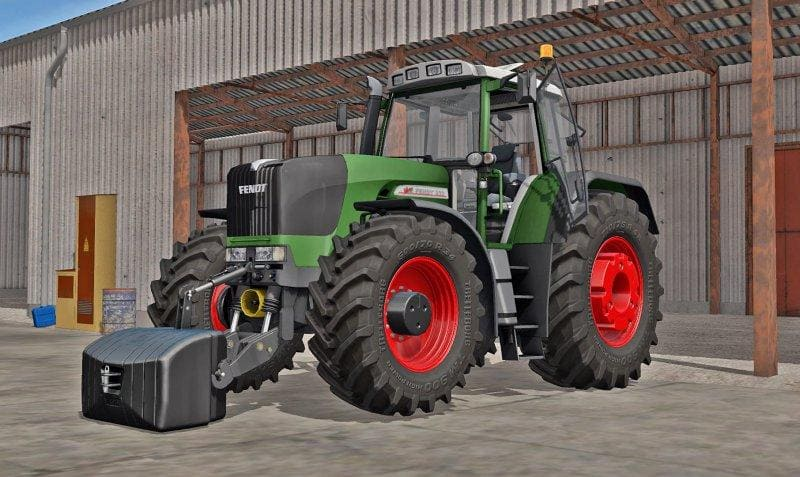 Мод трактор FENDT 900 VARIO TMS V1.2 Farming Simulator 2017