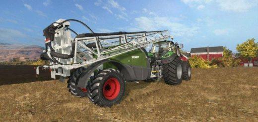 Мод опрыскиватель FENDT ROGATOR 300 V1.0.0. Farming Simulator 17