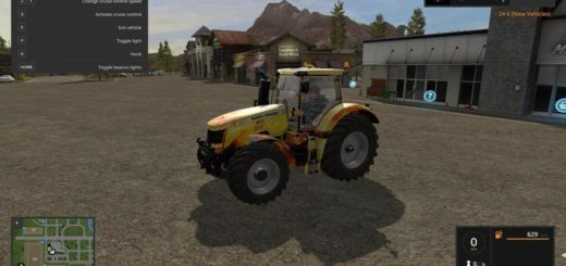Мод трактор FERGUSSON LAVA V1.1 Farming Simulator 2017