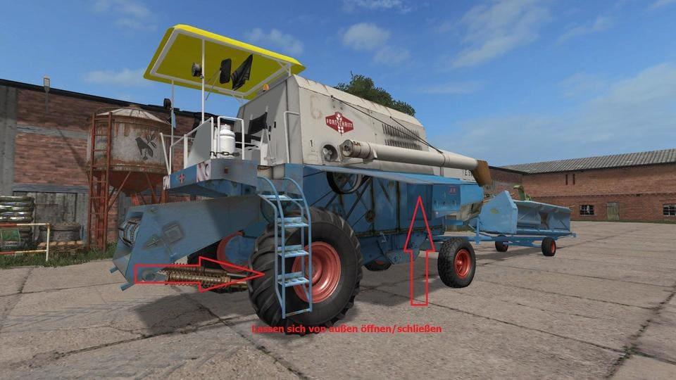 Мод ПАК FORTSCHRITT E512 PACK V1.2 Farming Simulator 17