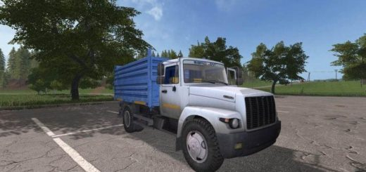 Мод грузовик ГАЗ-САЗ-33071 v1.0 Фермер Симулятор 2017