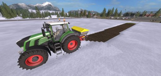 Мод salt Spreaders v 1.1 Farming Simulator 2017