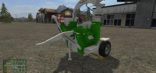 Мод щеподробилка HM 4-300 V1.0.0.0 Farming Simulator 2017