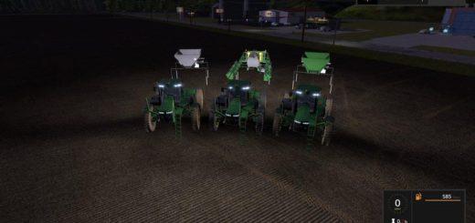 Мод ПАК JD 4045 SPRAYER/SPREADER V1.1 Farming Simulator 17