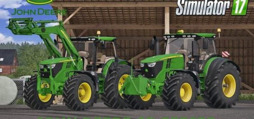 Мод ПАК JOHN DEERE 6R SERIES NEW PACK V1.1 FS17