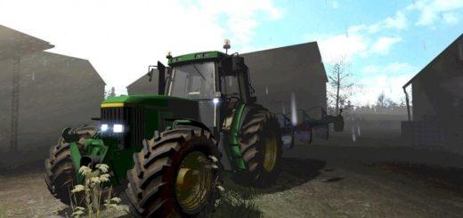 Мод трактор JOHN DEERE 6 SERIES V1.0 Farming Simulator 2017