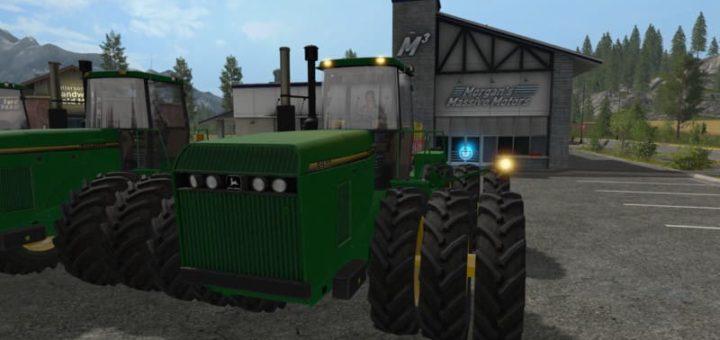 Мод трактор JOHN DEERE 8970 V1.0.0.0 Farming Simulator 2017
