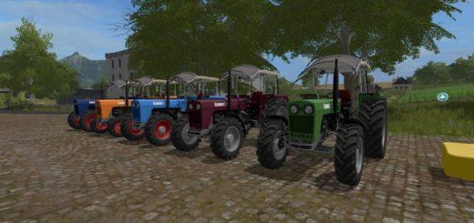 Мод трактор KRAMER KL714 V1.0 FS17
