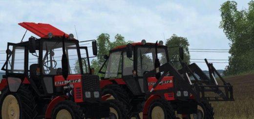 Мод трактор МТЗ MTZ 82 TS BELARUS V1.0 Фермер Симулятор 2017
