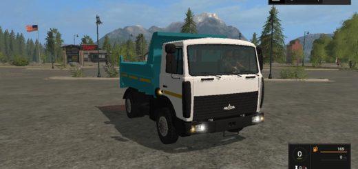 Мод грузовик Маз-5551 v1.0 Фермер Симулятор 2017
