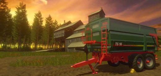 Мод ПАК прицепы METALTECH TS16 V1.1.0.0 Farming Simulator 2017