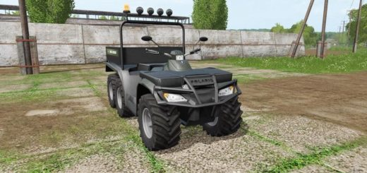 Мод квадроцикл POLARIS SPORTSMAN BIG BOSS 6X6 V1.1 FS17