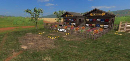 Мод Placeable Honey Farm v1.0 Farming Simulator 2017