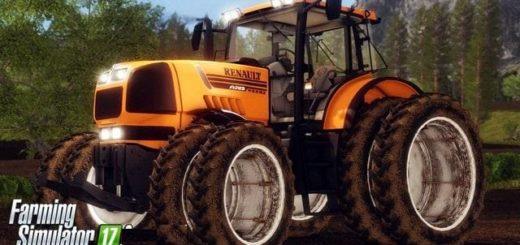 Мод трактор RENAULT ATLES 925RZ V1.2 Farming Simulator 17