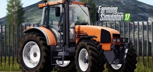 Мод трактор Renault ARES SERIES 600 v1.0 Farming Simulator 17