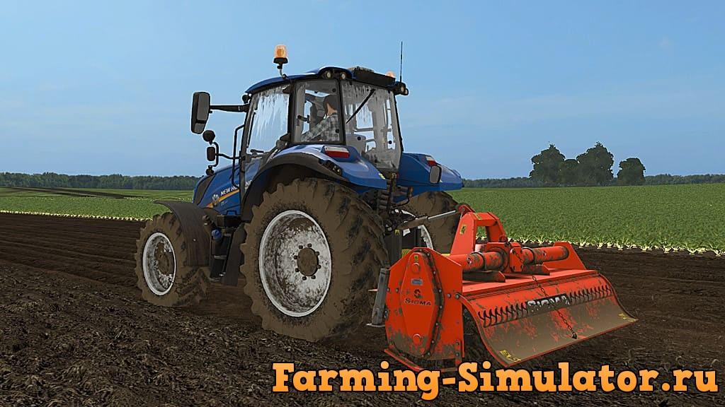 Мод культиватор SICMA RM 235 V1.0.0.0 Farming Simulator 2017