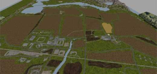 Мод карта STEINBURG MAP V1.0.0 Farming Simulator 17