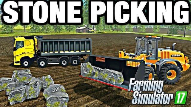 Мод ПАК STONES PACK V1.0.0.0 Farming Simulator 2017
