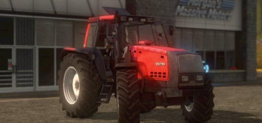Мод трактор VALTRA HITECH V1.0 Farming Simulator 2017