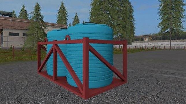 Мод бочка для воды и жидких удобрений v1.0 Фермер Симулятор 2017