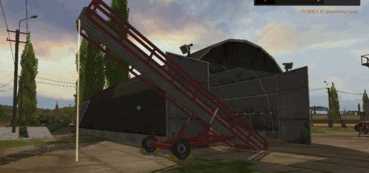 Мод хранилище для картофеля, свеклы и тростника v1.0 Farming Simulator 17