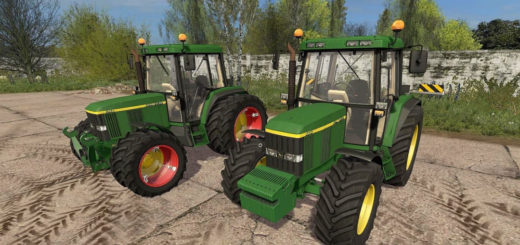 Мод трактор John Deere 6410 Final Farming Simulator 17