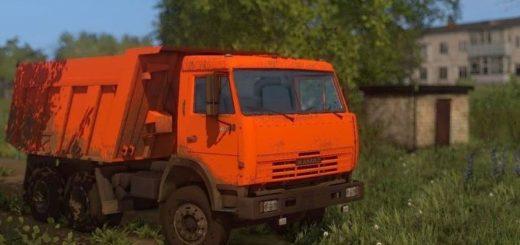 Мод грузовик Камаз 65115 v1.0 Фермер Симулятор 2017