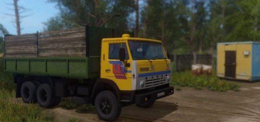 Мод грузовик Камаз-55102 v1.1 Фермер Симулятор 2017