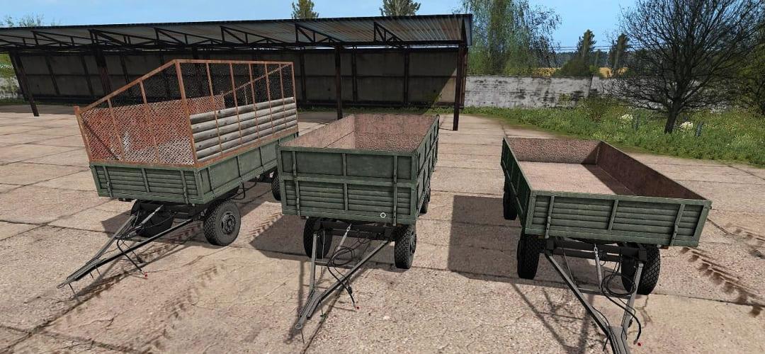 Мод прицеп MBP 6.5 v1.0 Farming Simulator 2017