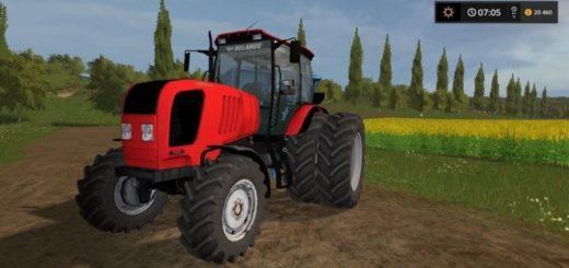Мод трактор МТЗ-2022.3 v2.0 edit Фарминг Симулятор 2017