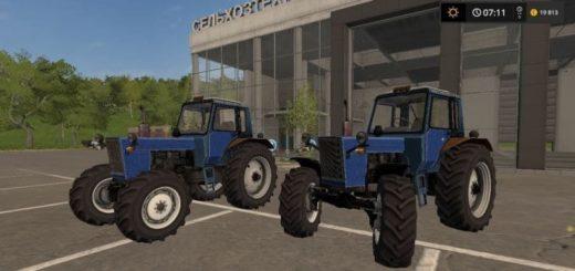 Мод трактор Беларус МТЗ-80 v1.2.0.0 Фарминг Симулятор 2017