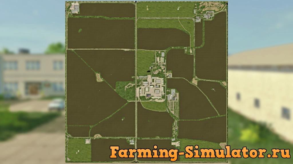 Мод карта PGR SLIWNO V1.0.0.0 Farming Simulator 2017